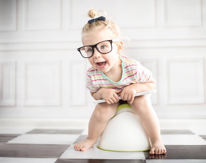ребёнок 3-х лет ходит только на горшок