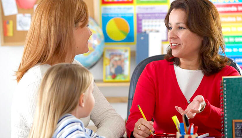 Поговорите заранее с будущими воспитателями