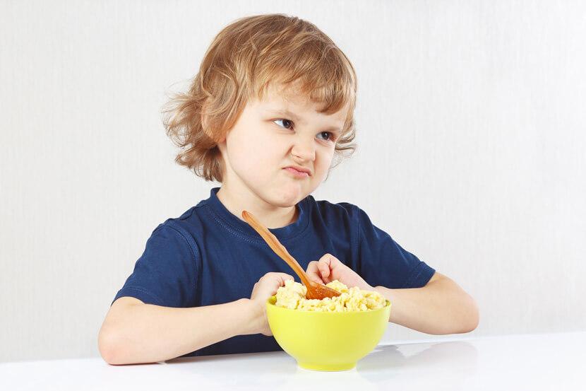 Есть дети, которые не едят утром