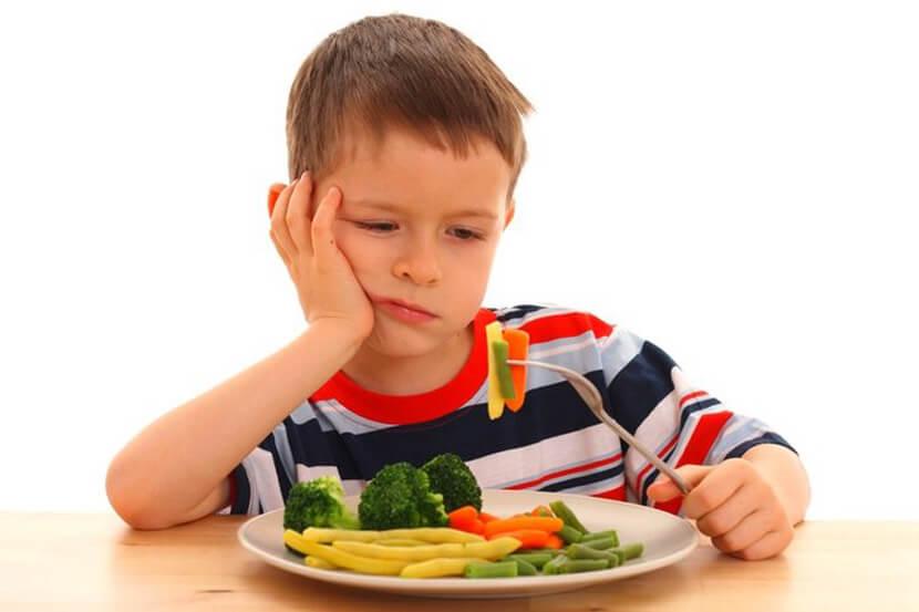 Ребёнок не проголодался